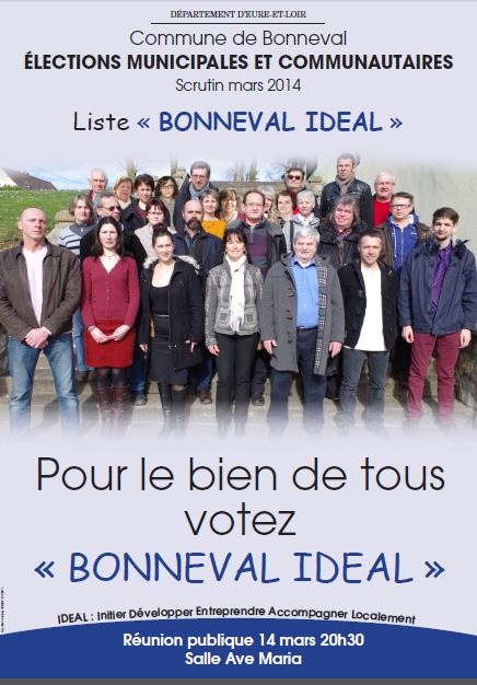 affiche BONNEVAL IDEAL 2014 03 12