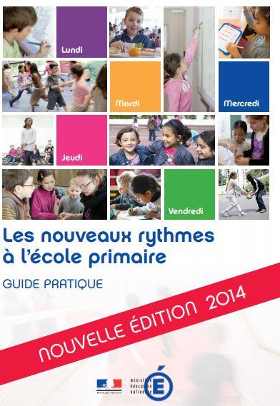 Les nouveaux rythmes à l'école primaire édition 2014